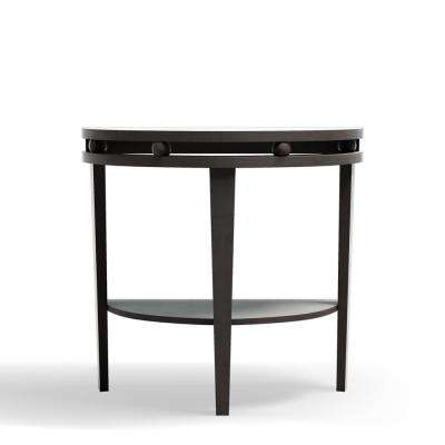Adelyn Cappuccino Console Table