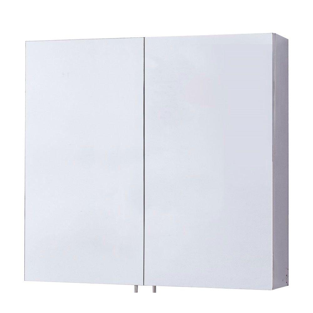 Merveilleux Bellaterra Home Gervais 23.6 In. X 22 In. Recessed Or Surface Mount Medicine  Cabinet