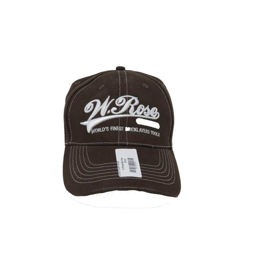Brown W. Rose Promotional Hat