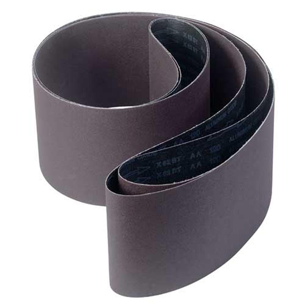 6 in. x 89 in. 150-Grit Aluminum Oxide Sanding Belt
