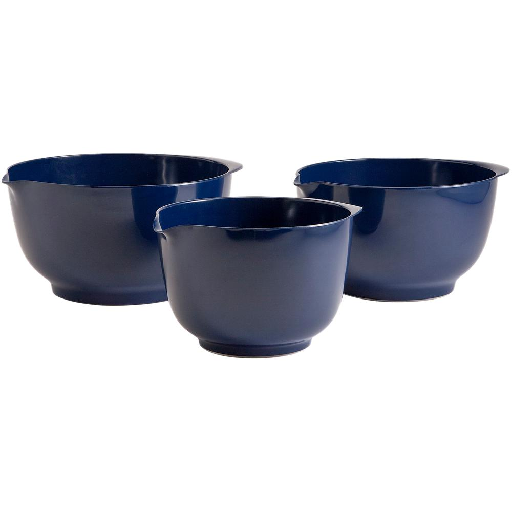 2, 3 and 4 l Melamine Mixing Bowl Set in Cobalt