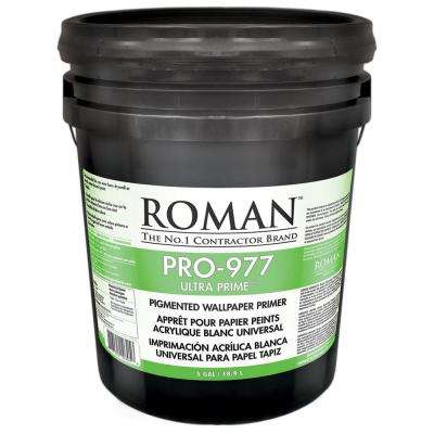 Pro 977 Ultra Prime 5 Gal Interior And Exterior Wallcovering Primer Sealer