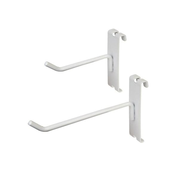 Heavy-Duty Gridwall Hooks for Any Retail Display (Pack of 25) with 4 in. Hook and 6 in. Hook