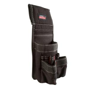Dickies 6-Pocket Pencil Pouch Construction Tool Holder in Black by Dickies