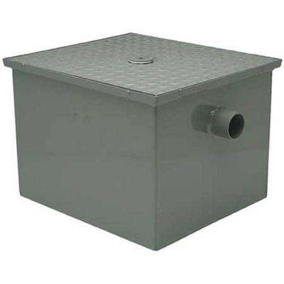 16 in. x 24.5 in Grease Trap Interceptor with 4 in. No-Hub inlet