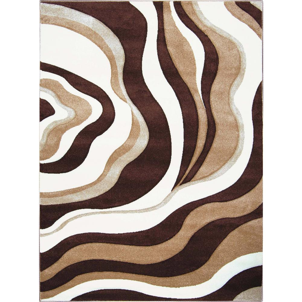 Sumatra Brown 7 ft. 10 in. x 10 ft. 2 in.