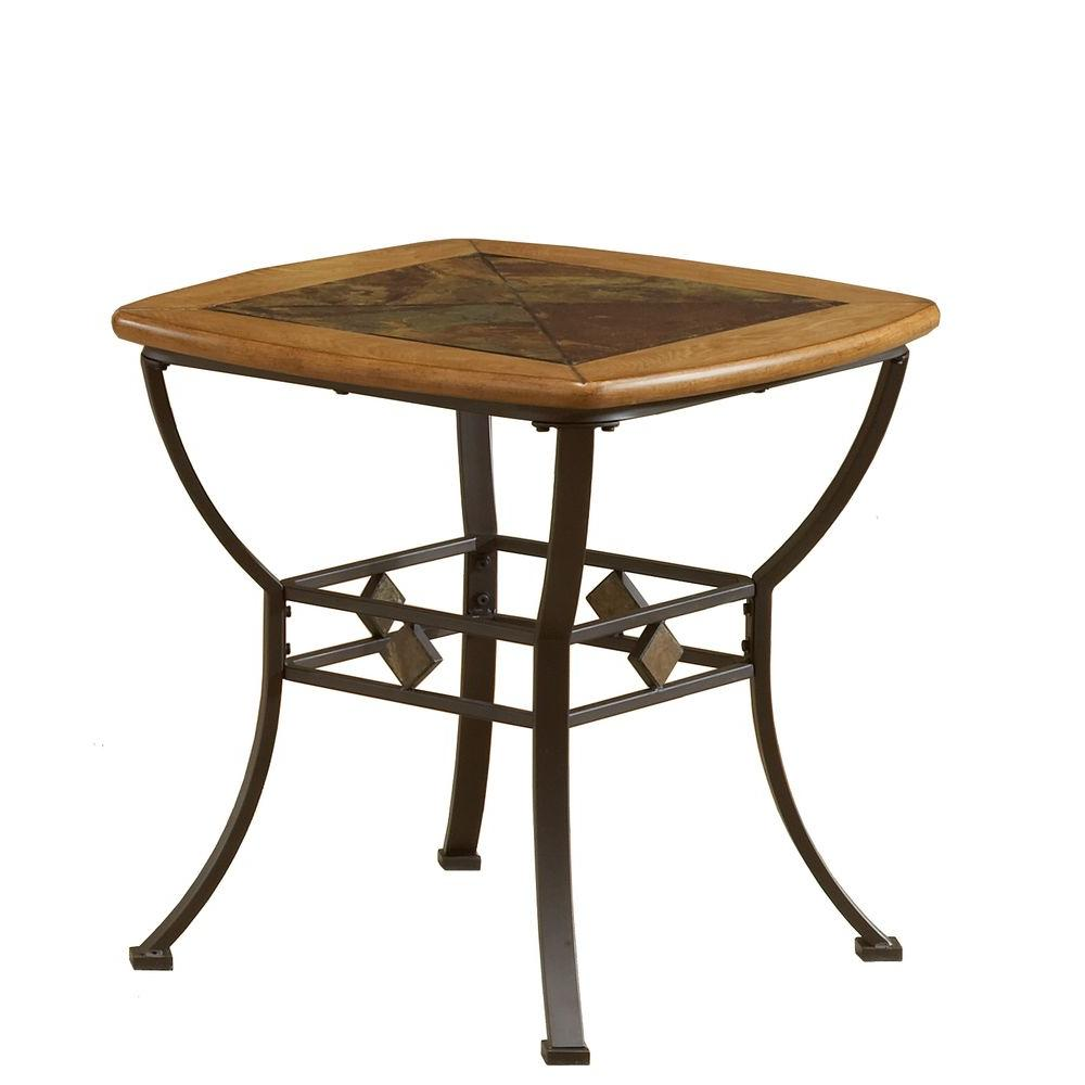 Lakeview Brown End Table