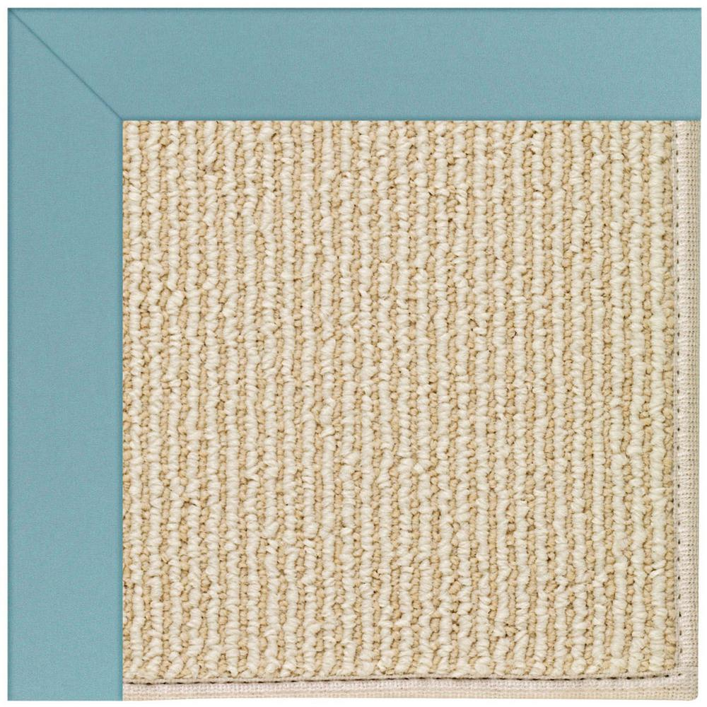 Zoe Beach Sisal Bright Blue 12 Ft X 15 Area
