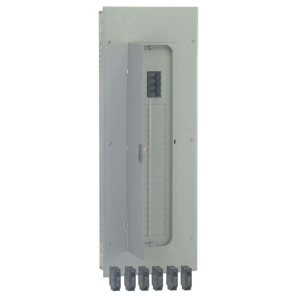 PowerMark Gold 200 Amp 40-Space 40-Circuit Indoor Main Breaker Value Kit Includes Select Circuit Breaker