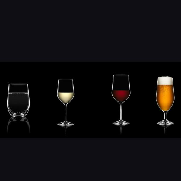 Orrefors Morberg Collection 20 1 Oz Beer Glass Set Of 4 6200007 The Home Depot