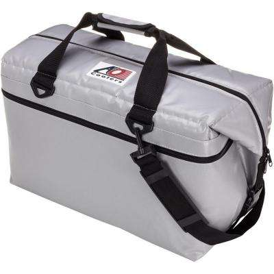 42 Qt. Soft Vinyl Cooler with Shoulder Strap and Wide Outside Pocket
