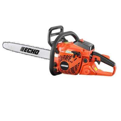 18 in  40 2 cc Gas 2-Stroke Cycle Chainsaw
