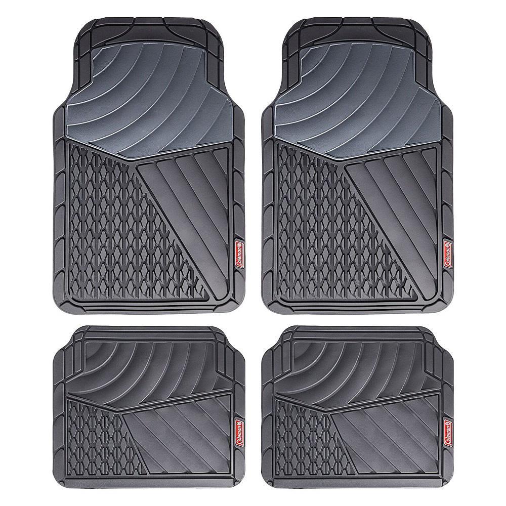 Gray All Weather 4-Piece 28.5 in. x 18.5 in. Journeyman Class PVC Car Mat