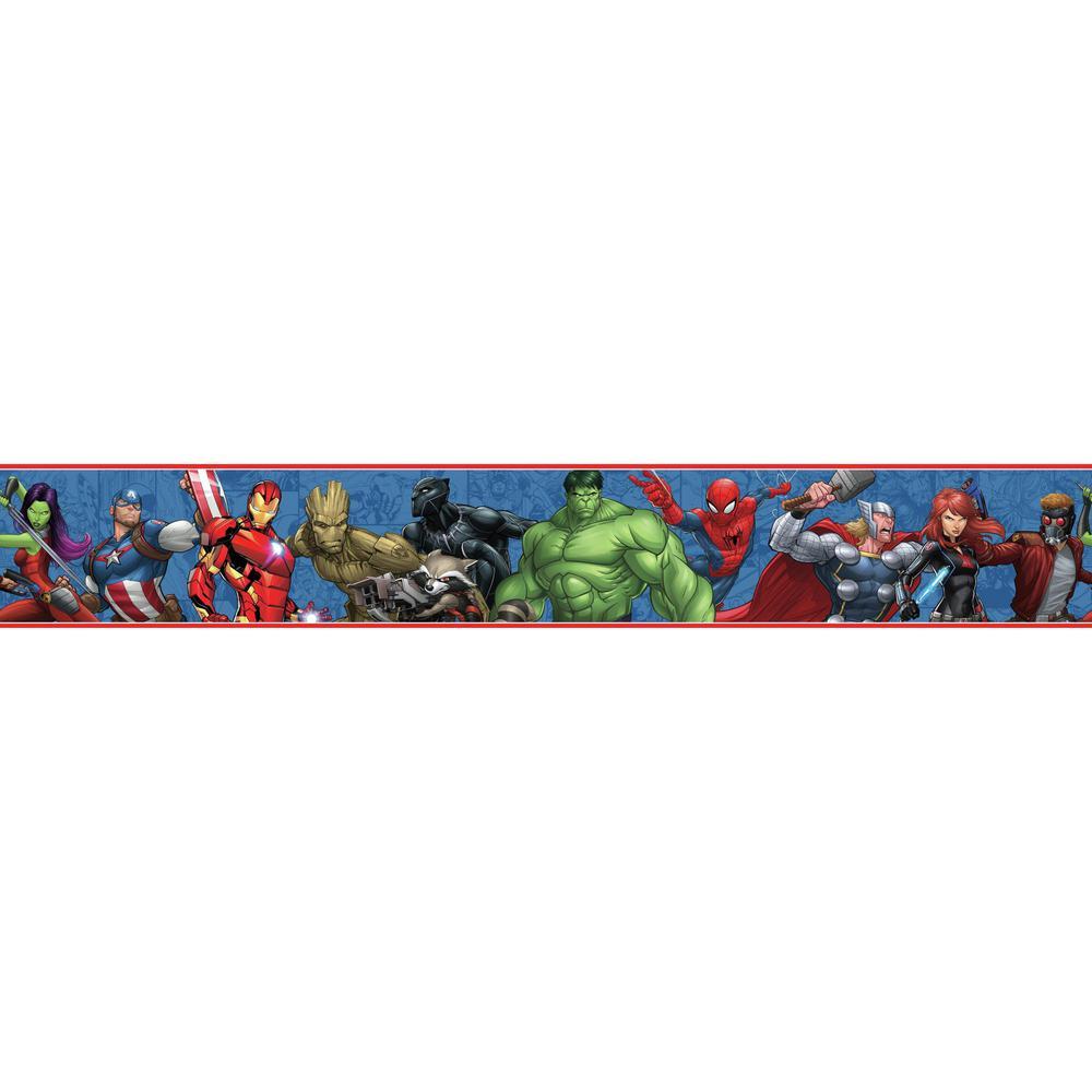 York Wallcoverings Inc Disney Kids Iii Marvel Avengers