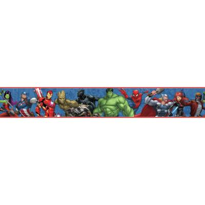 Disney Kids III Marvel Characters Border