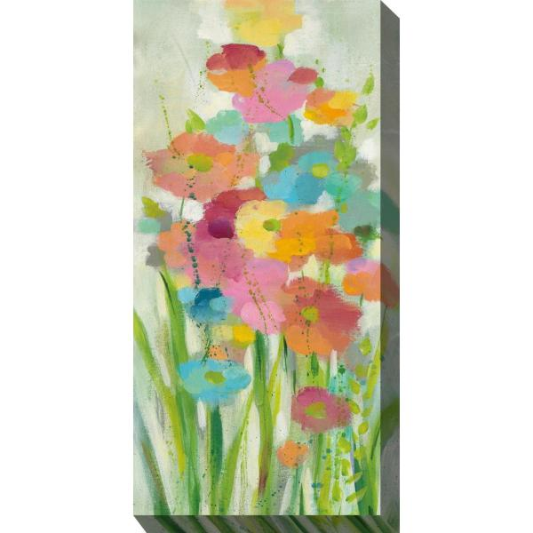 24 In X 48 In Long Stems Outdoor Canvas Wall Art