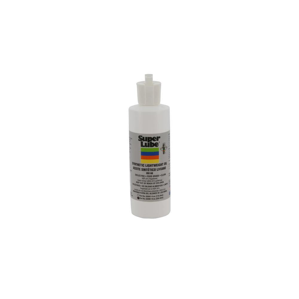 8 oz. Synthetic Lightweight Oil Bottle (ISO 68)