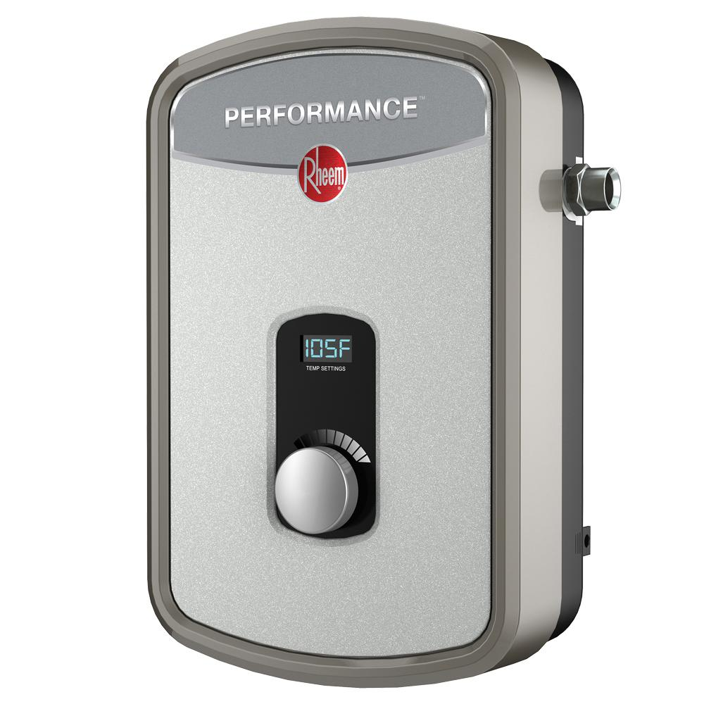 Rheem performance 8 kw self modulating gpm electric Instant water heater