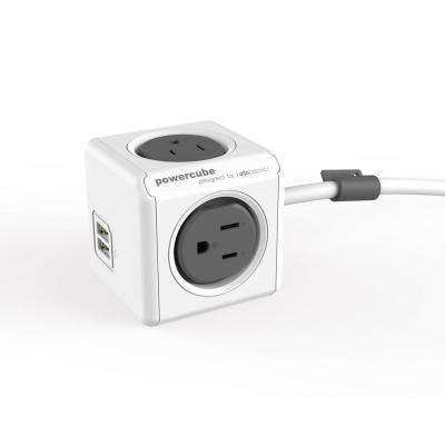 4-Outlet 2 USB Surge Protector