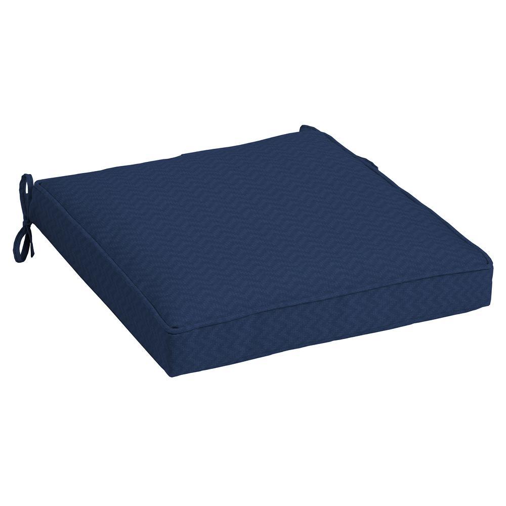 DriWeave Sapphire Leala Outdoor Square Seat Cushion