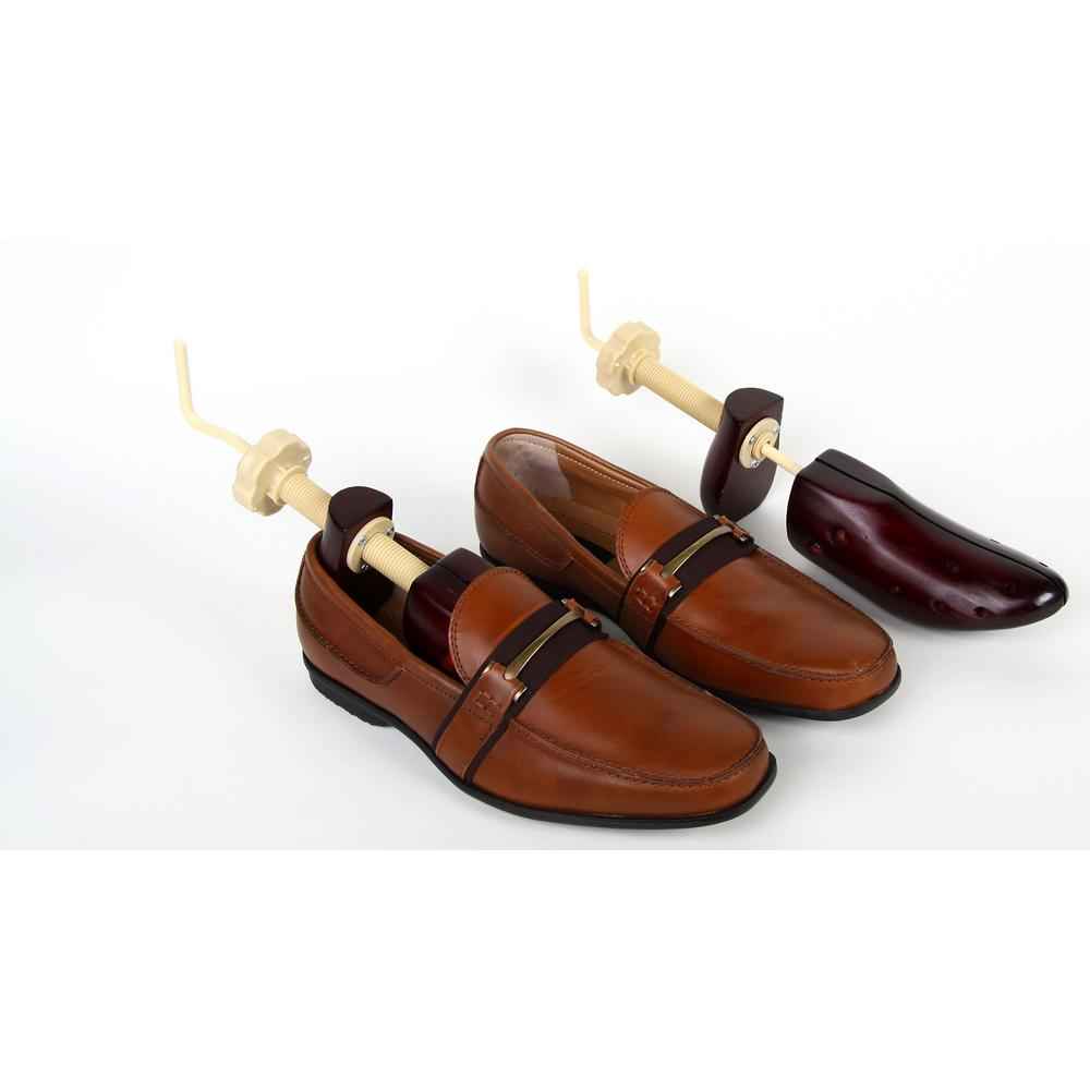 Unisex Size 9 14 Wooden 2 Way Shoe Stretchers 2 Pack