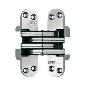 SOSS 1-1/8 inch x 4-5/8 inch Satin Chrome Invisible Hinge by SOSS