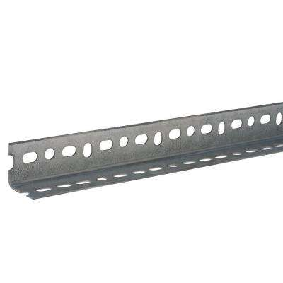 1-1/4 in. x 18-Gauge x 72 in. Zinc-Plated Slotted Angle