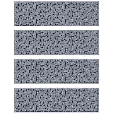 Bluestone 8.5 in. x 30 in. Ellipse Stair Tread Cover (Set of 4)