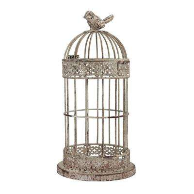 10 in. H x 5 in. W Decorative Wire Bird Cage