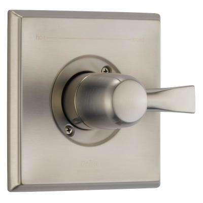 Dryden 1-Handle Diverter Valve Only Trim in SpotShield Stainless (Valve Not Included)