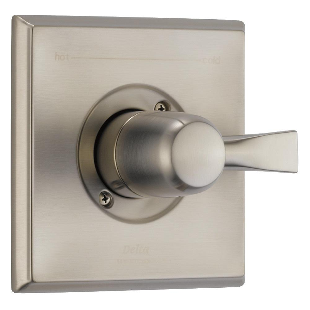 Dryden Monitor 14 Series 1-Handle Temperature Control Valve Trim Kit in