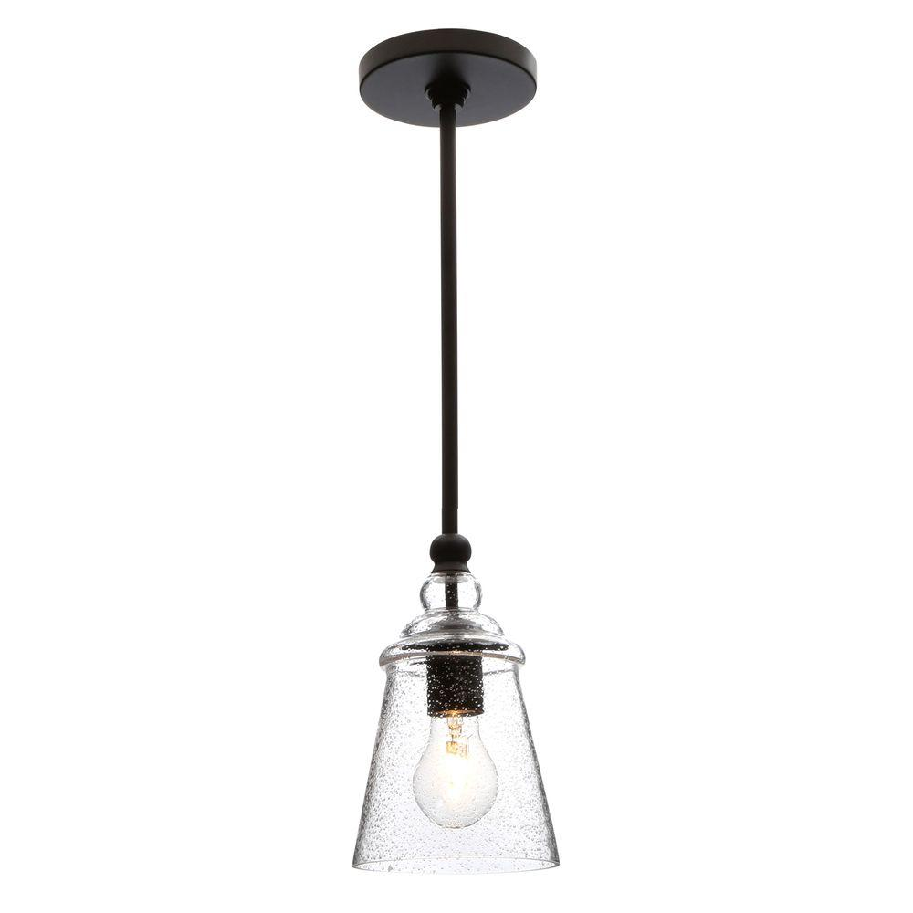 Feiss Urban Renewal 5 75 In W 1 Light Oil Rubbed Bronze Pendant