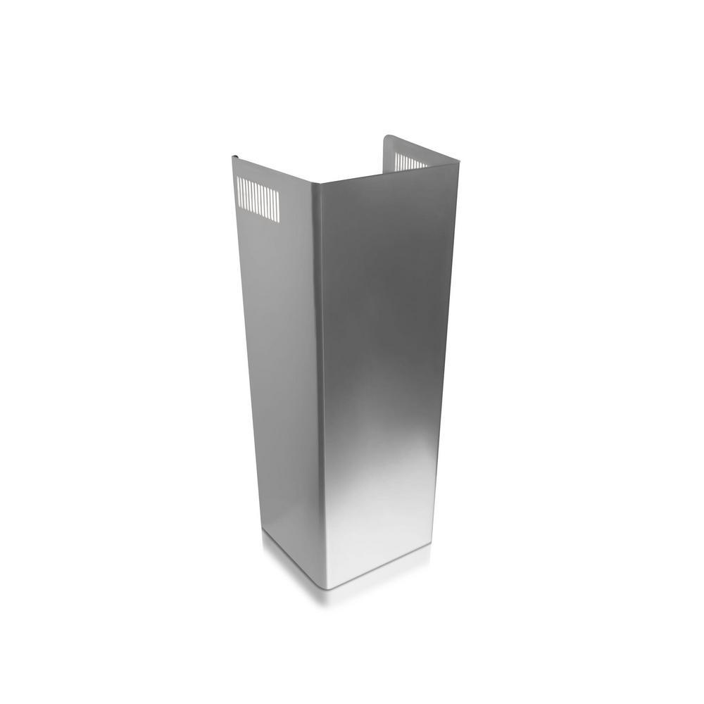 Adjustable Chimney Style Range Hoods ~ Ancona adjustable chimney extension kit for wall mount