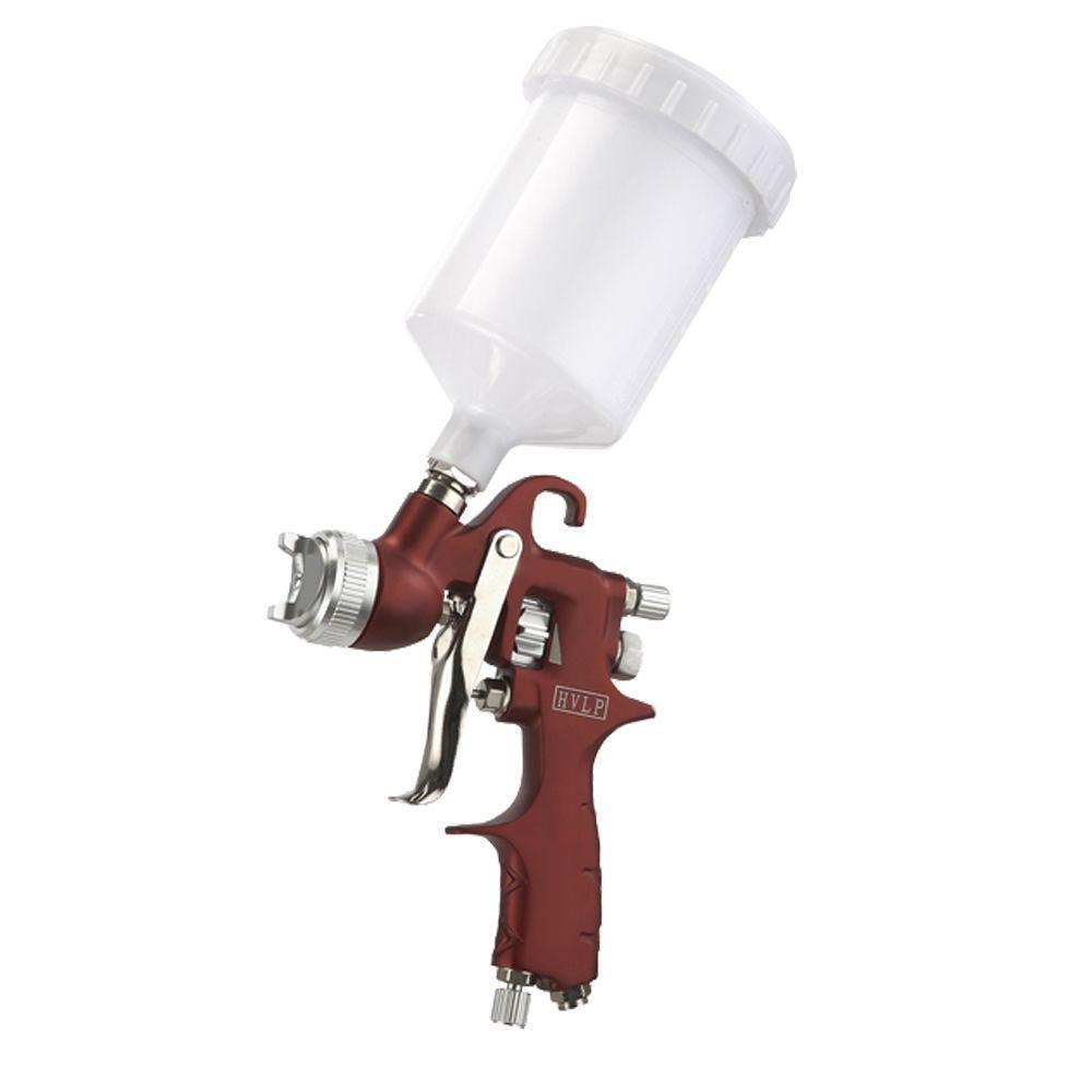 HVLP Gravity Feed Spray Gun with Paddle Wheel Design