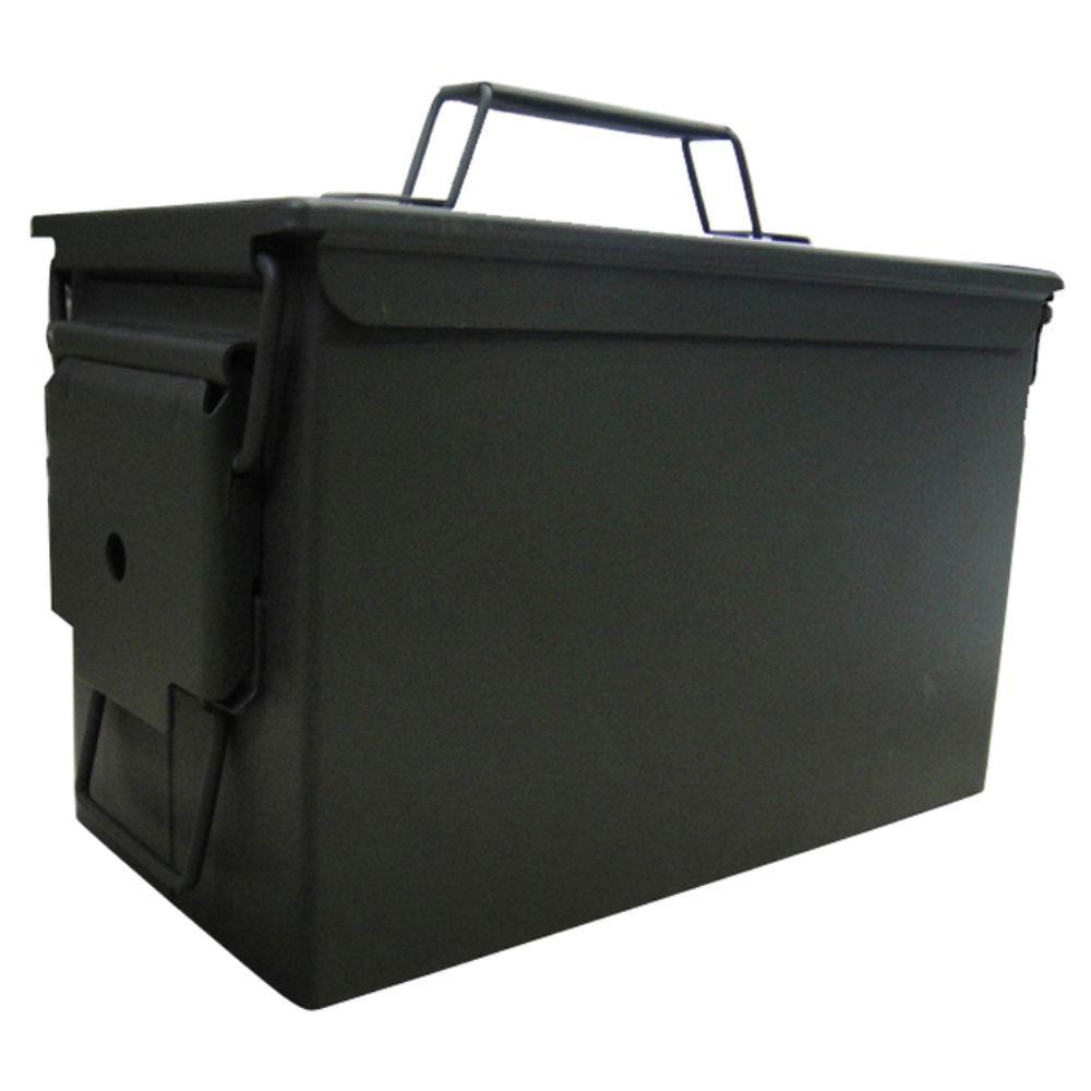 Buffalo Tools 7.4-qt. Army Style Metal Ammo Storage Box