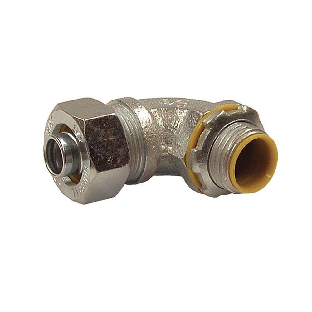 Liquidtight 3/8 in. Insulated Connector (25-Pack)