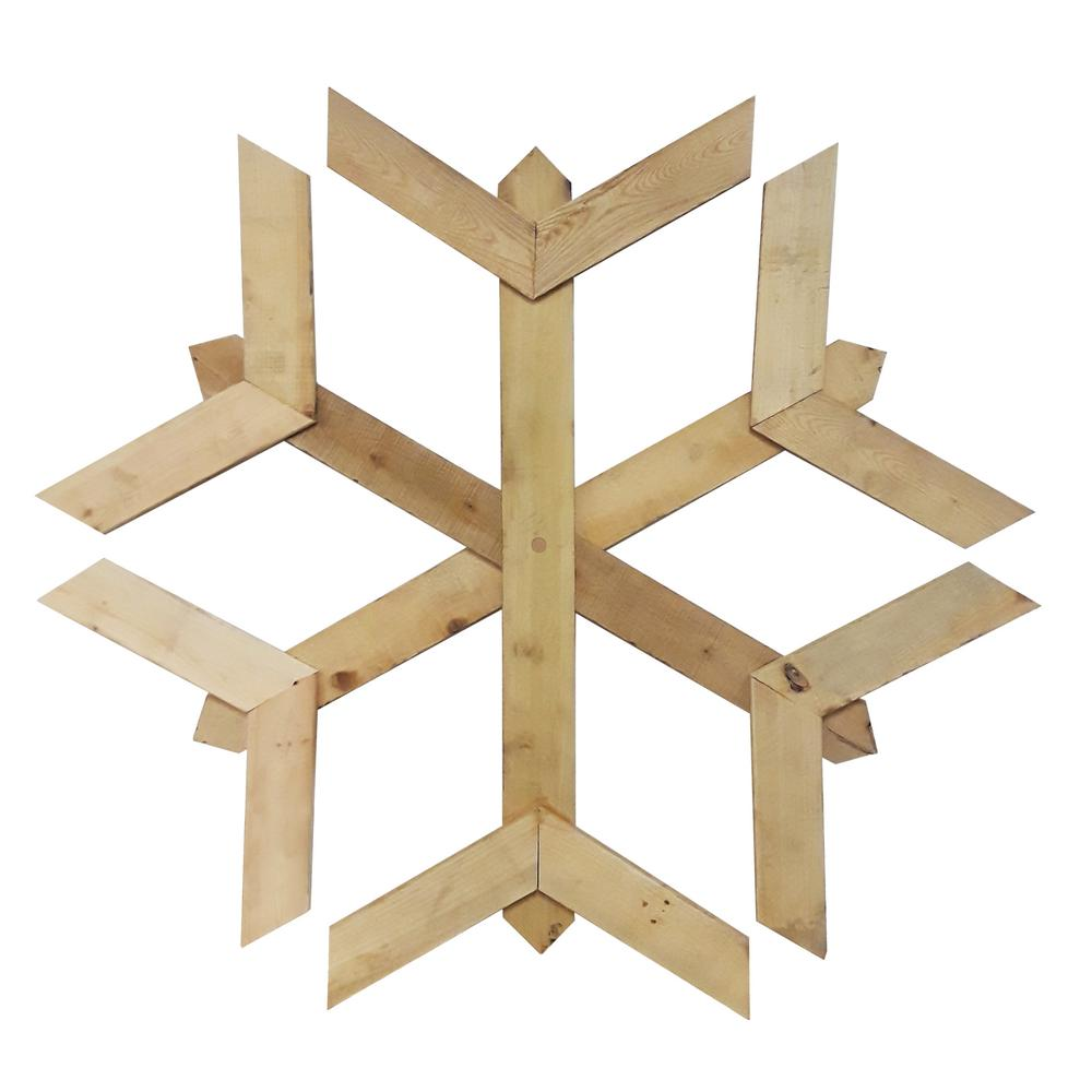 Dimensions Pallet Board Holiday Snowflake Kit