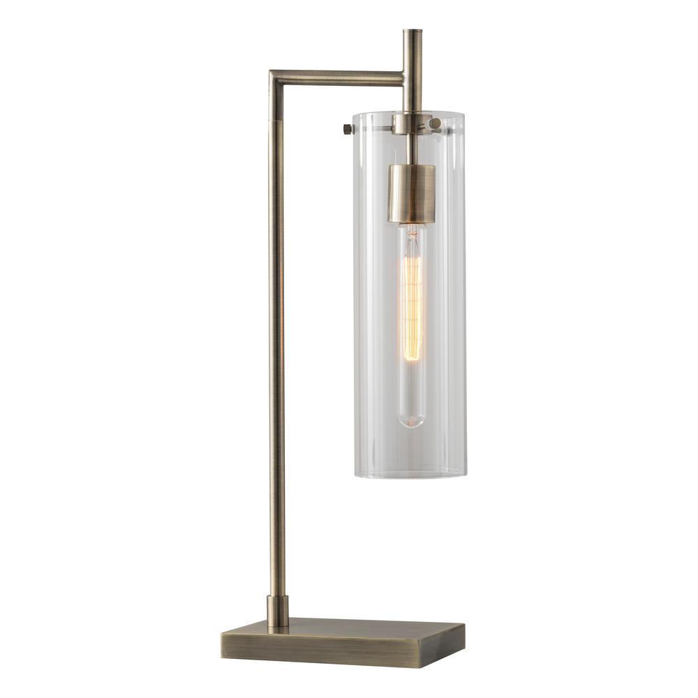 Dalton 24 in. Brass Table Lamp