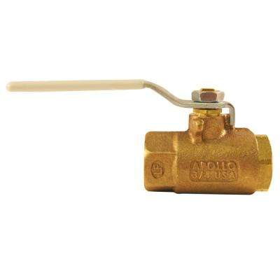 3/4 in. Bronze FPT x FPT Industrial Ball Valve Lead Free