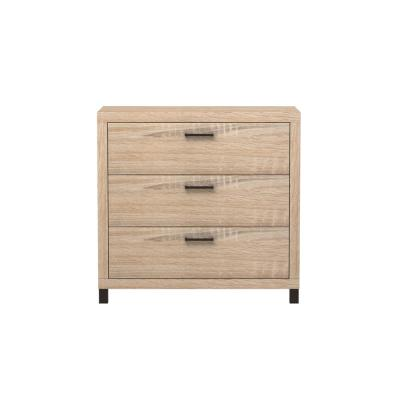 Thornton 3-Drawer Driftwood Chest of Drawers
