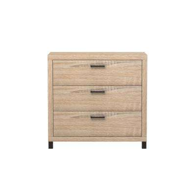 Thornton 3-Drawer Driftwood Chest