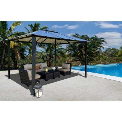 Paragon-Outdoor 10 ft. x 13 ft. Bermuda Hard Top Gazebo