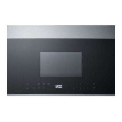 24 in. 1.34 cu. ft. Over the Range Microwave in Stainless Steel