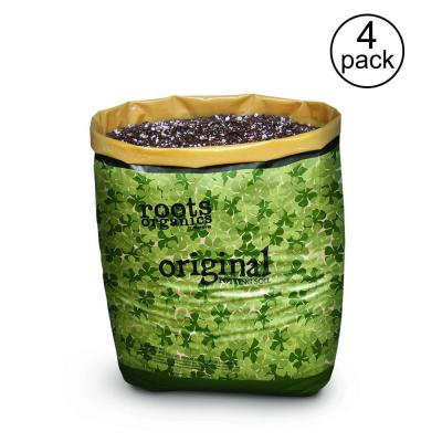 Roots Organics Hydroponic Coco Fiber Based Potting Soil, 0.75 cu. ft. (4-Pack)