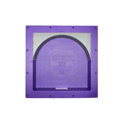 14 in. x 14 in. x 4 in. Large Square Niche with Arch