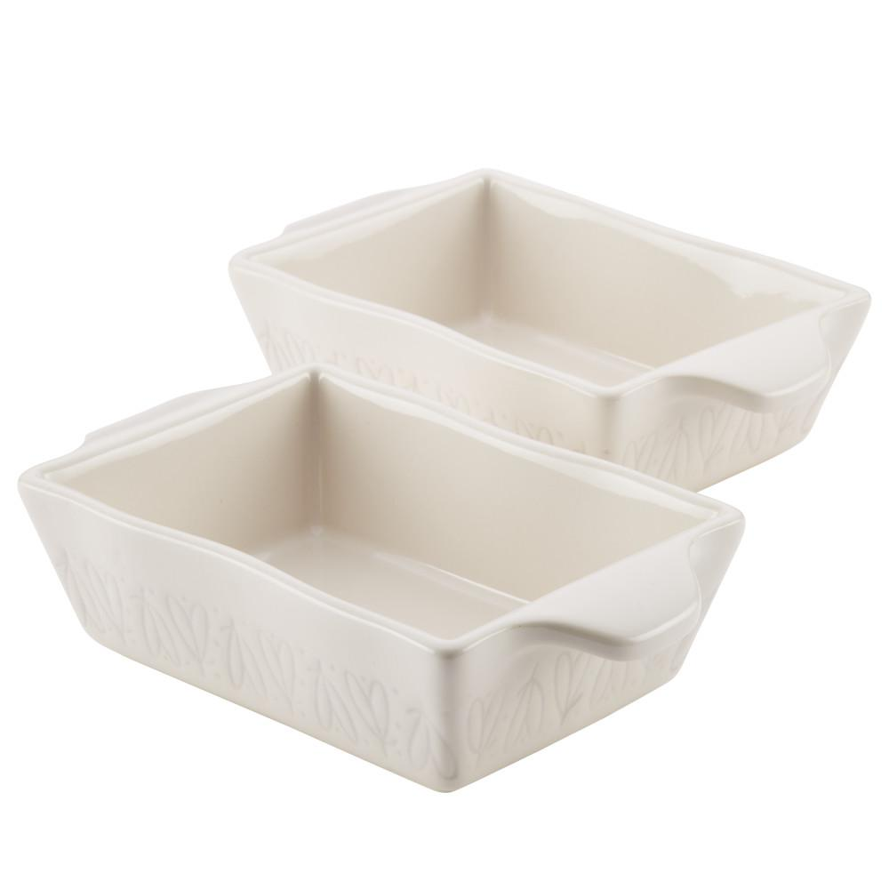 Home Collection 2-Piece Ceramics Au Gratin Set, 12 oz. in French