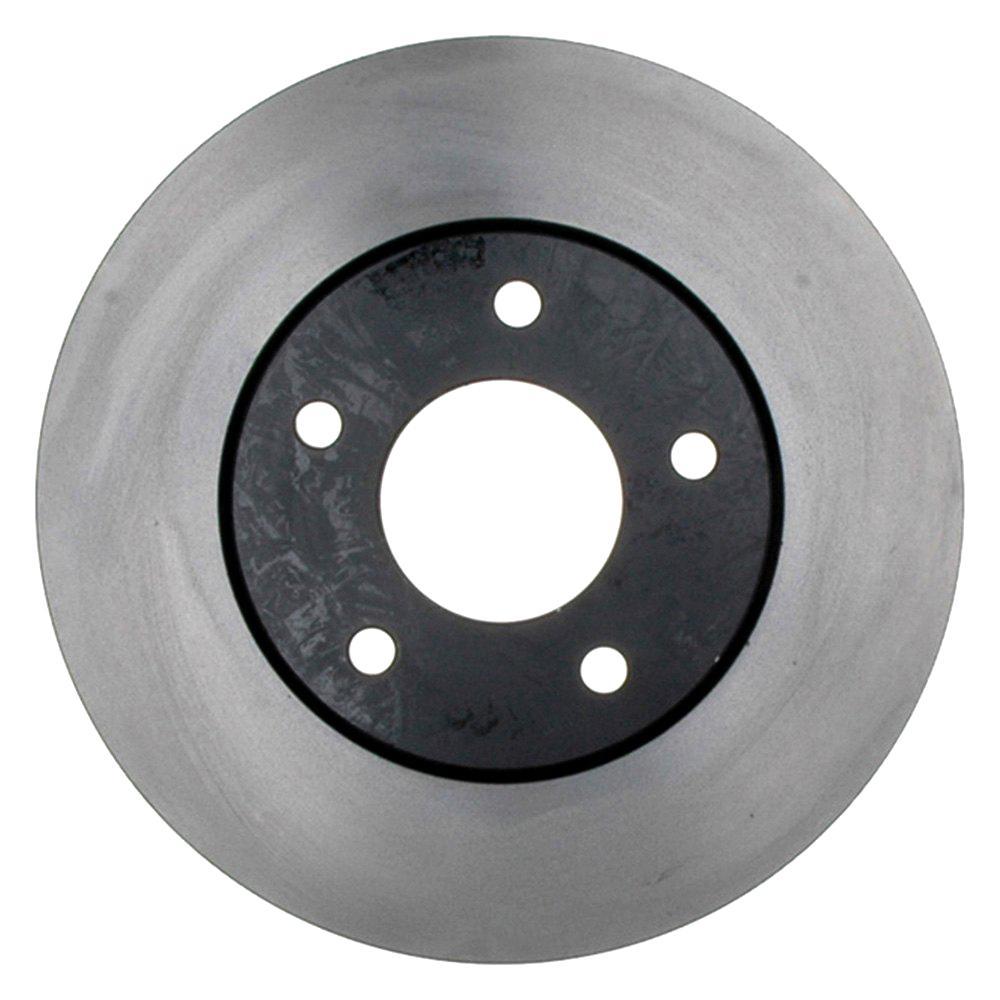 ACDelco 18A1109A Advantage Non-Coated Front Disc Brake Rotor