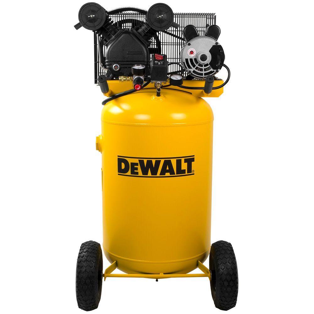 Dewalt 30 Gal. 155 psi 1.6 HP Portable Electric Air Compressor by DEWALT