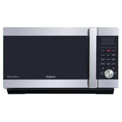 1.2 cu. ft. Countertop SpeedWave 3-in-1 Convection Oven, Microwave with Combi Speed Cooking in Stainless Steel