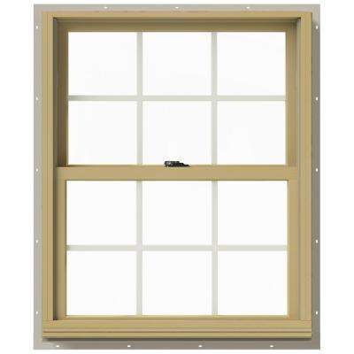 29.375 in. x 36 in. W-2500 Double-Hung Aluminum Clad Wood Window
